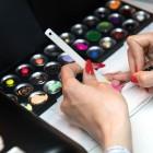 Festőzselé / Akril festék tároló doboz (15 színnek)