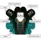 Mystic Sablon - Szalon 50 db-os csomag