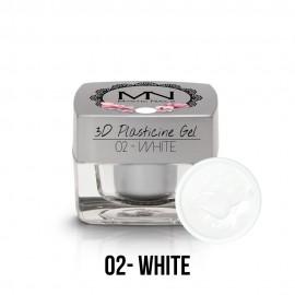 3D Gyurma Zselé - 02 - White - 3,5g