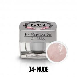 3D Gyurma Zselé - 04 - Nude - 3,5g
