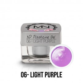 3D Gyurma Zselé - 06 - Light Purple - 3,5g