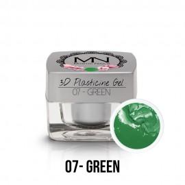 3D Gyurma Zselé - 07 - Green - 3,5g