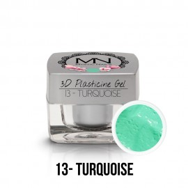 3D Gyurma Zselé - 13 - Turquoise - 3,5g