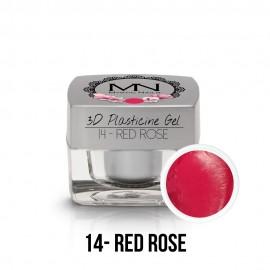 3D Gyurma Zselé - 14 - Red Rose - 3,5g