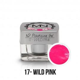 3D Gyurma Zselé - 17 - Wild Pink - 3,5g