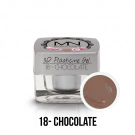 3D Gyurma Zselé - 18 - Chocolate - 3,5g