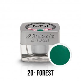 3D Gyurma Zselé - 20 - Forest- 3,5g