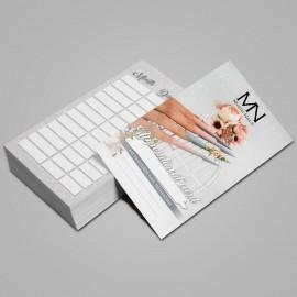Időpontkártya Angol - 2021 - 02 - 25 db / szett