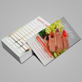 Időpontkártya Angol - 2021 - 04 - 25 db / szett