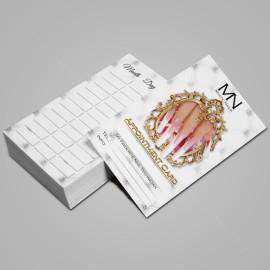 Időpontkártya Angol 01 - 25 db / szett