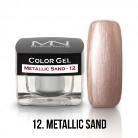 Színes Zselé - 12 - Metallic Sand - 4g