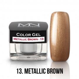 Színes Zselé - 13 - Metallic Brown - 4g
