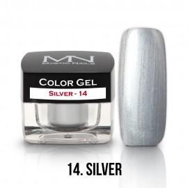 Színes Zselé - 14 - Silver - 4g