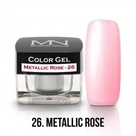 Színes Zselé - 26 - Metallic Rose - 4g