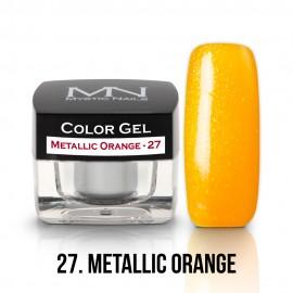 Színes Zselé - 27 - Metallic Orange - 4g