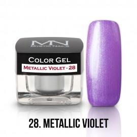 Színes Zselé - 28 - Metallic Violet - 4g