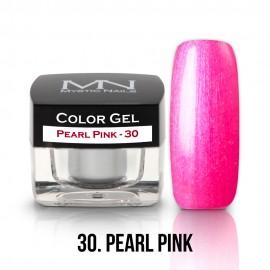 Színes Zselé - 30 - Pearl Pink - 4g