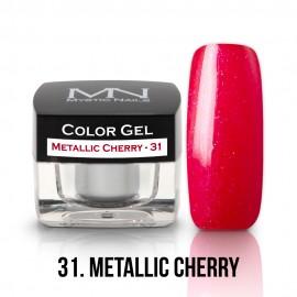Színes Zselé - 31 - Metallic Cherry - 4g