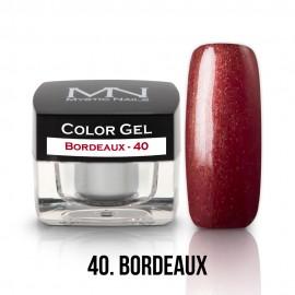 Színes Zselé - 40 - Bordeaux - 4g