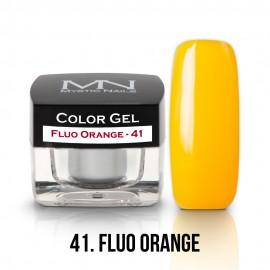 Színes Zselé - 41 - Fluo Orange - 4g