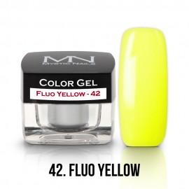 Színes Zselé - 42 - Fluo Yellow - 4g