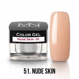 Színes Zselé - 51 - Nude Skin - 4g