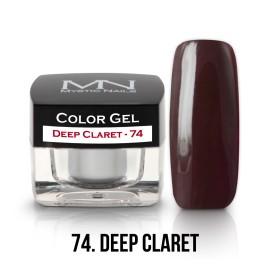 Színes Zselé - 74 - Deep Claret - 4g