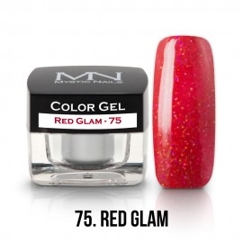 Színes Zselé - 75 - Red Glam - 4g