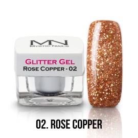 Csillám Zselé - no.02. - Rose Copper - 4g