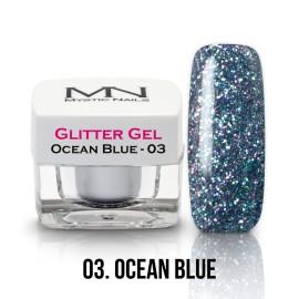 Csillám zselé - no.03. - Ocean Blue - 4g