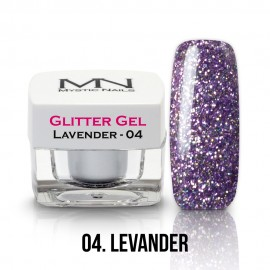 Csillám Zselé - no.04. - Lavender - 4g