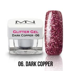 Csillám Zselé - no.06. - Dark Copper - 4g