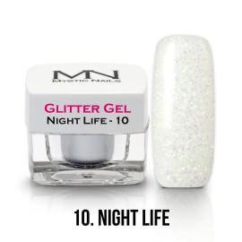 Csillám Zselé - no.10. - Night Life - 4g