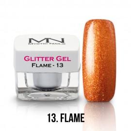 Csillám Zselé - no.13. - Flame - 4g