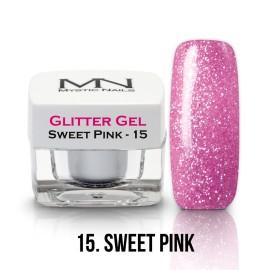 Csillám Zselé - no.15. - Sweet Pink - 4g