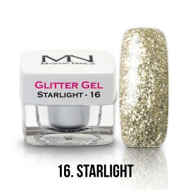 Csillám Zselé - no.16. - Starlight - 4g
