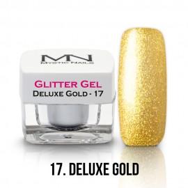 Csillám Zselé - no.17. - Deluxe Gold - 4g
