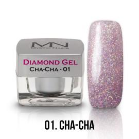 Diamond Zselé - no.01. - Cha - Cha - 4g