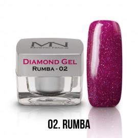 Diamond zselé - no.02. - Rumba - 4g