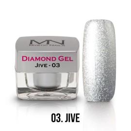 Diamond Zselé - no.03. - Jive - 4g