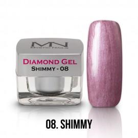 Diamond Zselé - no.08. - Shimmy - 4g