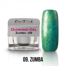 Diamond Zselé - no.09. - Zumba - 4g