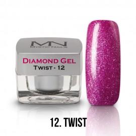 Diamond Zselé - no.12. - Twist - 4g