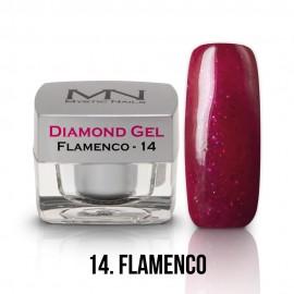 Diamond Zselé - no.14. - Flamenco - 4g