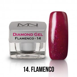 Diamond Zselé - no.14. - Flamenco - 4g