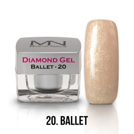 Diamond Zselé - no.20. - Ballet - 4g