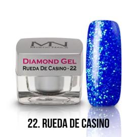 Diamond Zselé - no.22. - Rueda De Casino - 4g
