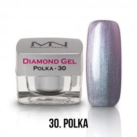 Diamond Zselé - no.30. - Polka - 4g