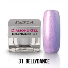 Diamond Zselé - no.31. - Bellydance - 4g