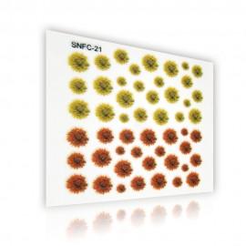 3D Matrica - virág - 3